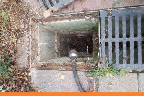Folz-Sinkkasten-Entwässerunginnen
